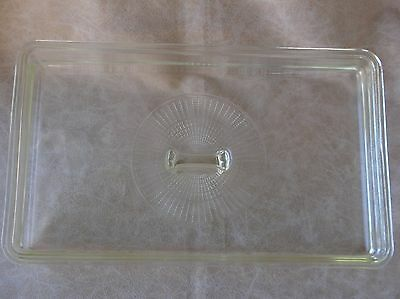 Vintage Presto Electric Pan Skillet Replacement Rectangle Glass Lid Only 15 X 9