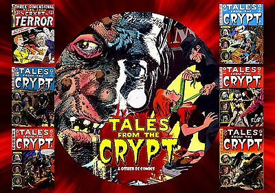 Tales From The Crypt & Other Ec Comics On Dvd Rom (Printed Disc)