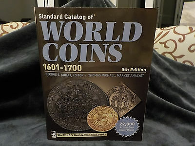 NEW Standard Catalog World Coins 1601-1700 5th Edition