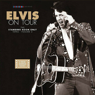 """Elvis Collectors """"Elvis On Tour - The Standing Room Only Tapes vol.2"""" (4 CD-BOX)"""