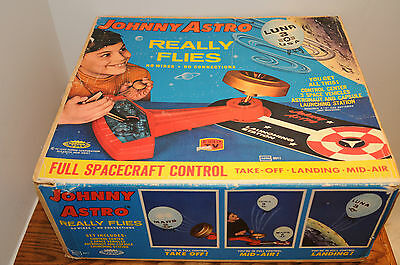 Vintage 1960s Topper Toys Johnny Astro Space Spacecraft Launching Control Center