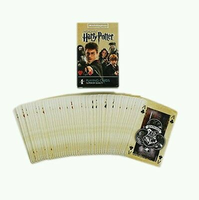 Harry Potter Playing Cards Hogwarts Gryffindor HufflePuff Ravenclaw Slytherin