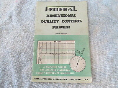 Vintage Federal Products Corp. Dimensional Quality Control Primer, 9th Printing