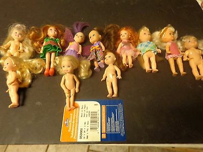 Kelly Doll Lot and small dolls