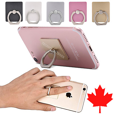 Universal 360° Rotating Finger Ring Smartphone Stand Holder for iPhone Samsung