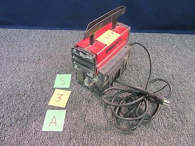 Hilti Tf-5/h Tf5H Air Vac Vacuum Pump Drill Used 110-120V Cracked Handle Used A