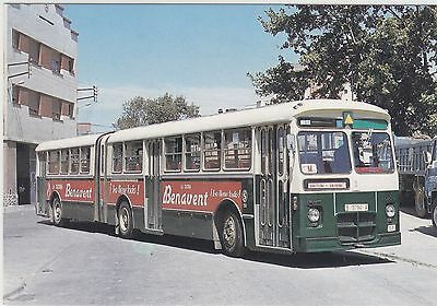1971     Articulated - Autobus Pegaso 6035-A bus in Spain in 1980