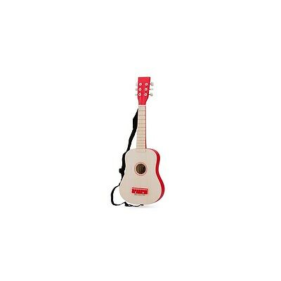 Guitare Naturelle Rouge New Classic Toys 10300 - Neuf