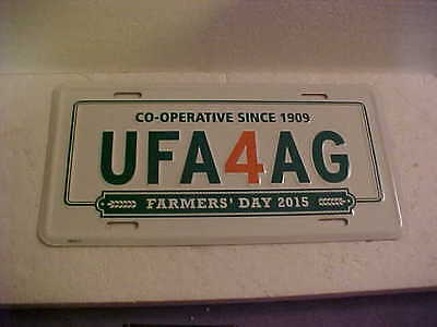 Ufa Farmer's Day 2015 Front Metal License Plate