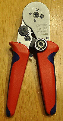 "Knipex 97 52 64 Insulated 7,25"" Crimper, 28-13 AWG.  Made in Germany"