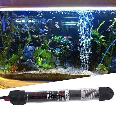 Professional Submersible Heater Heating Rod for Aquarium Glass Fish Tank SM