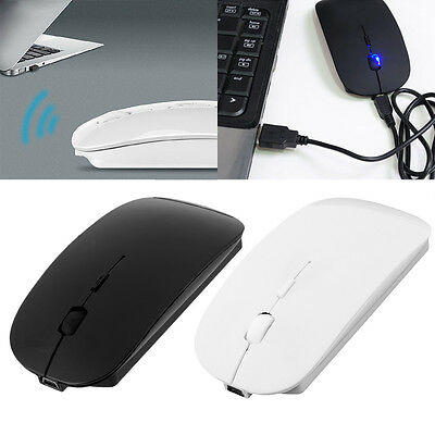 Portable Rechargeable Bluetooth 3.0 Wireless Mouse For Laptop PC Tablets AA