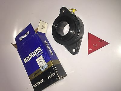"New Seal Master GOLD LINE  SFT-32 RT Flange Bearing, 2"" Bore 2-Bolt"