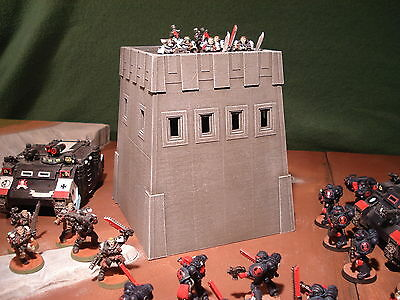 Wargame Terrain Imperial Forward Tower 15cm Ht - Tactical Tabletop Model (B1,B2)