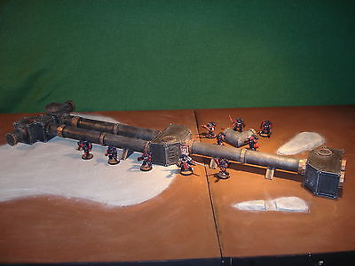 Wargame Terrain - Imperial Fuel Pipe Lines - Tactical Tabletop Model
