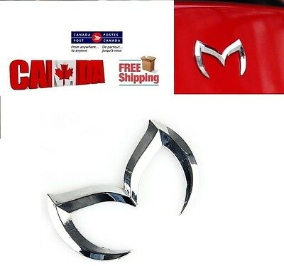 3D Chrome Bat Batman Car Vehicle Emblem Badge Evil Decal For Mazda 3 5 6 RX-8