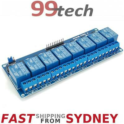 Relay Module, 8 Channels, LEDs, 5V 10A Opto Isolated, Arduino, eParcel Sydney