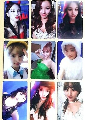 TWICE TWICEcoaster 3rd Album Official Selfie Ver. Photocard -Select Member Photo