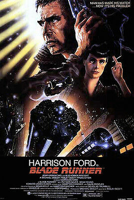 Blade Runner (1982) movie poster reproduction single-sided rolled