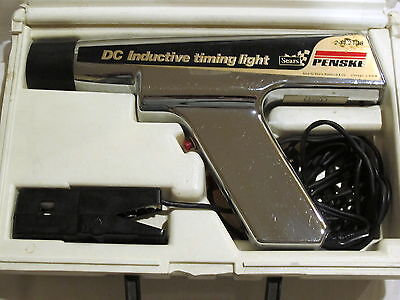 Sears Penske 244.2138 DC Inductive Timing Light With Case Tested Works Great