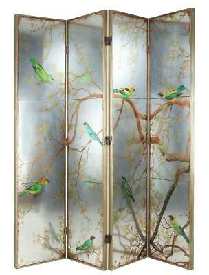 Exotic bird room divider / dressing screen