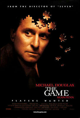 The Game (1997) original movie poster single-sided rolled