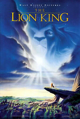 The Lion King (1994) movie poster reproduction single-sided rolled