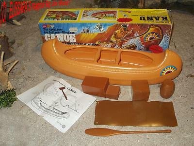 Lone Ranger  -  INDIAN CANOE  - Indianer Kanu -  Gabriel Toys - Big Jim