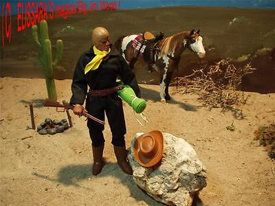 Big Jim - Karl May - Custom -Hook als REVOLVERHELD / GUNSLINGER ! Western Mattel
