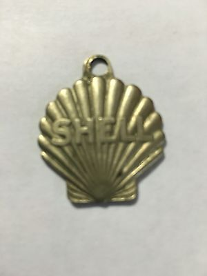 Vintage SHELL Gasoline Station Lost Key Finder Tag- Collectible Medallion