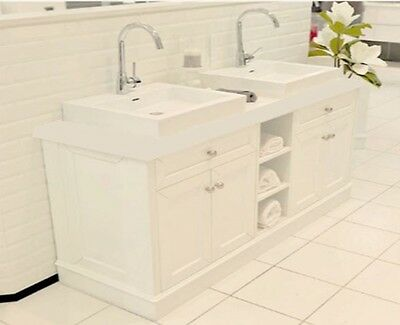 Torino 1500Mm High Quality Modern Bathroom Vanity Unit With Faucet And Waste New