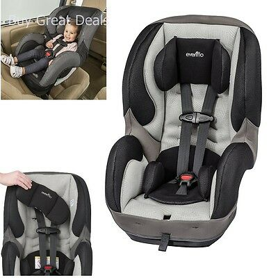 EVENFLO SURERIDE DLX Car Seat Harnessed Convertible Baby Car Seat