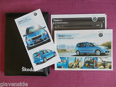 Skoda Roomster Owners Manual - Owners Guide - Handbook. (Acq 4241)