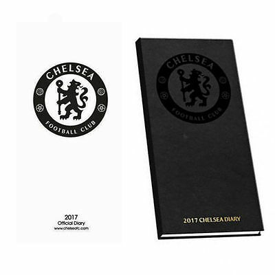 Official Chelsea FC 2017 Pocket Diary Slim Diary