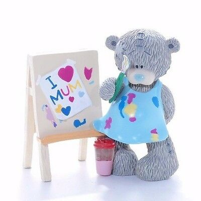 Me To You Tatty Bear Collectors Figurine - Painting my Love  rare