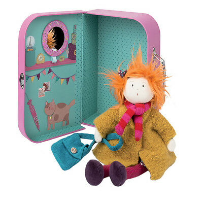 Moulin Roty - Marinette Rag Doll in Suitcase