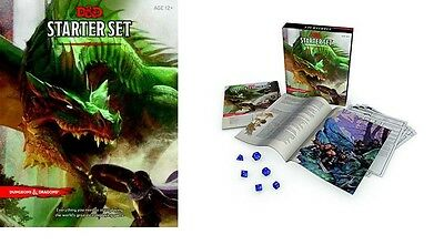 D&D Dungeons & Dragons RPG Starter Set - New 5th Edition