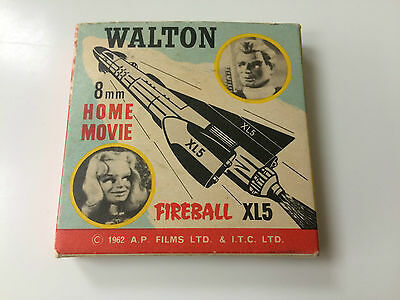 Vintage 8mm Film Reel - Walton -   Fireball XL5
