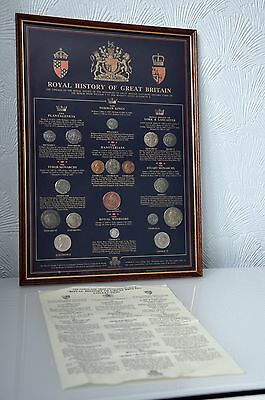 "Historic Coin Collection-""ROYAL HISTORY OF GREAT BRITAIN"" Collection-"