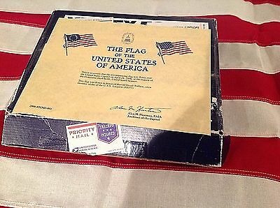 Valley Forge Flown Over Capitol w COA United States FLAG 3x5 Andrew USS Largarto