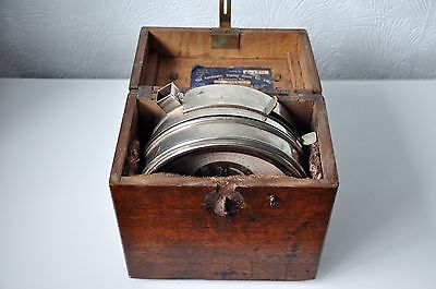 Vintage Toulet Imperator Pigeon Racing Clock - Fitted with McMillan's Improve Pa