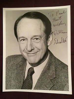 William Schallert Patty Duke Show Actor Autographed Signed Photo