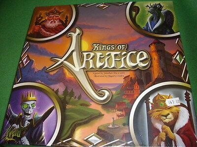 Wyrd Miniatures - Kings Of The Artifice Board Game  11101