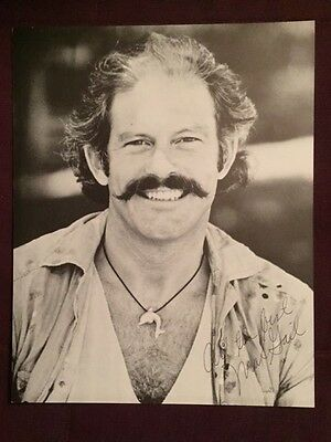 Max Gail Barney Miller Actor Autographed Signed Photo