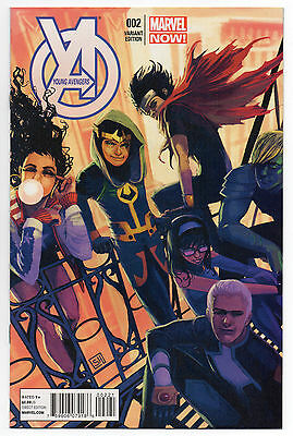 YOUNG AVENGERS #2 | Vol. 2 | Stephanie Hans 1:50 Variant | RARE | 2013 | VF/NM