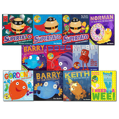 Sue Hendra Collection Supertato and Other Stories 11 Books Set Pack NEW [PB]
