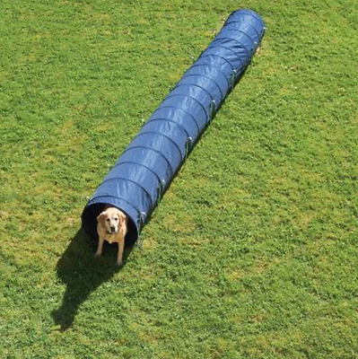 Dog Tunnel 5 Meter Long Training Activity Fun Play Healthy Keep Fit Agility New!