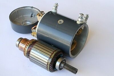 NEW 12 V Long Armature 5HP Motor, Goodwinch, Superwinch, TDS, Warn