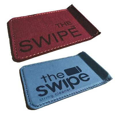 The SWIPE Guitar & stringed instrument cleaner / wipe Choice of Blue or Burgundy