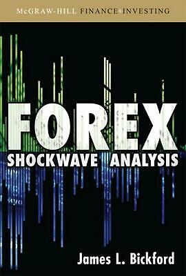 Forex Shockwave Analysis by James L. Bickford (English) Hardcover Book Free Ship